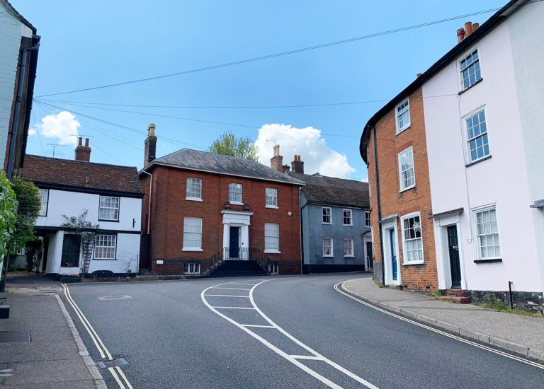 Manningtree end of High Street