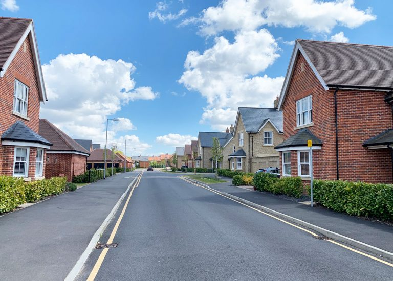 New houses at Lawford